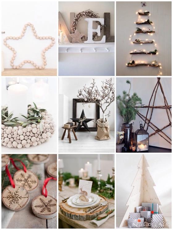 Noël en bois